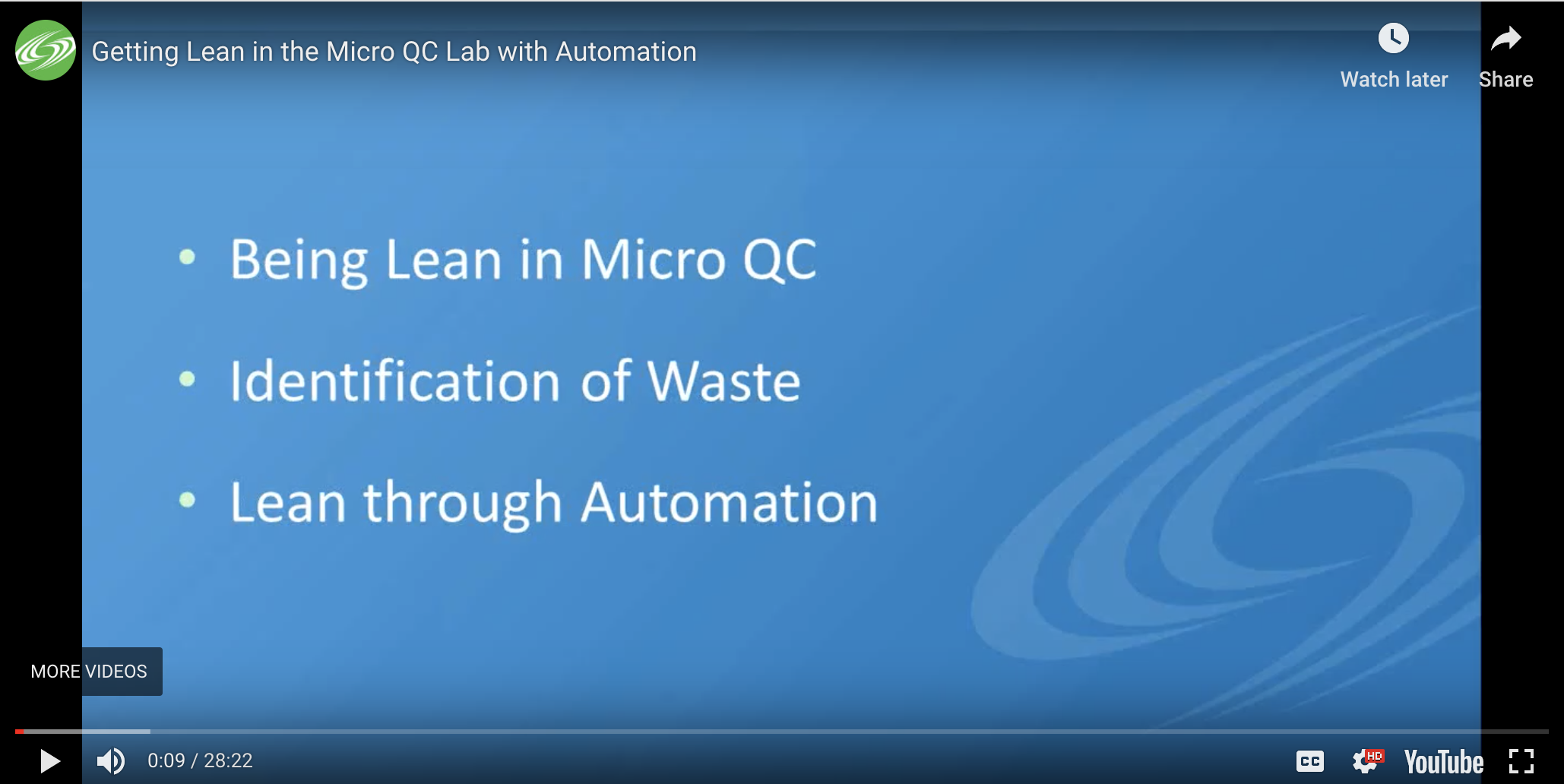 How to Get Lean in the Micro QC Lab with Automation Webinar